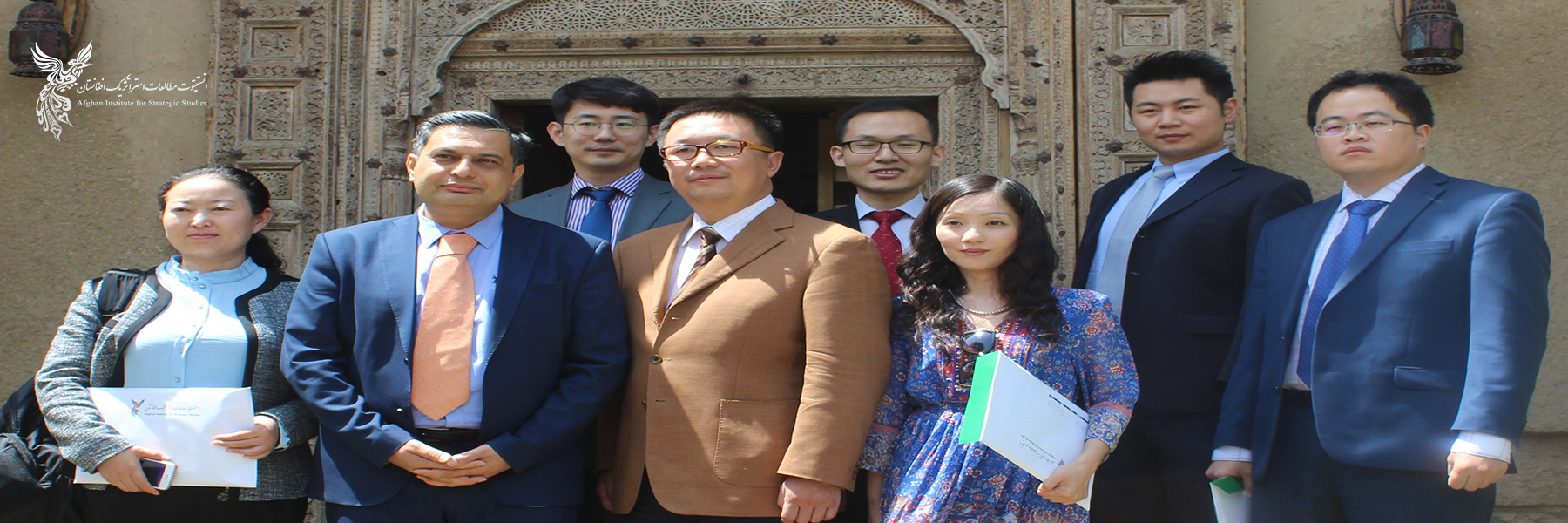 Chinese Scholars Visit AISS